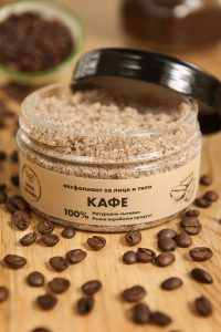 Захарен ексфолиант - Кафе