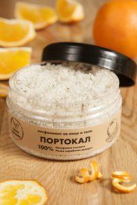 Захарен ексфолиант - Портокал